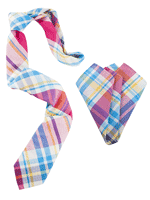 Curacao sling tie and handkerchief combo