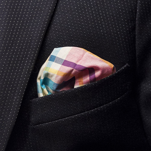 Curacao sling pocket square