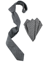Wooster tie and handkerchief combo