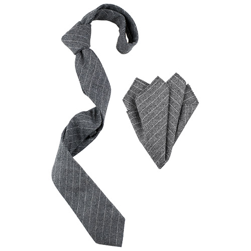 Wooster tie and pocket square set