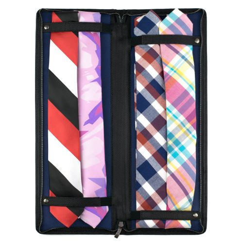 Onyx tie travel case